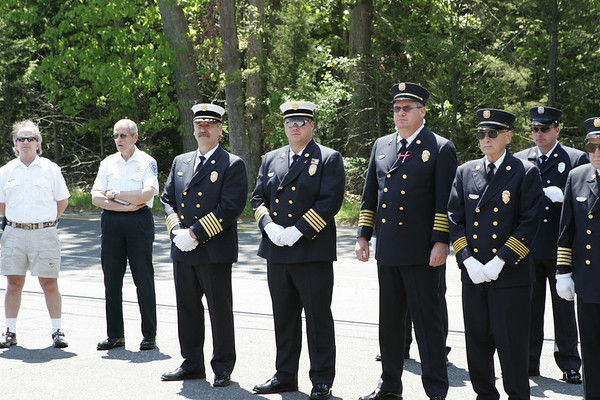 Memorial Day Ceremony at Ramtown Fire Co. 2005