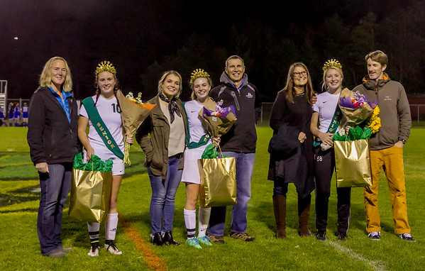 Set one: Vashon Island High School Girls Soccer Seniors Night 2017