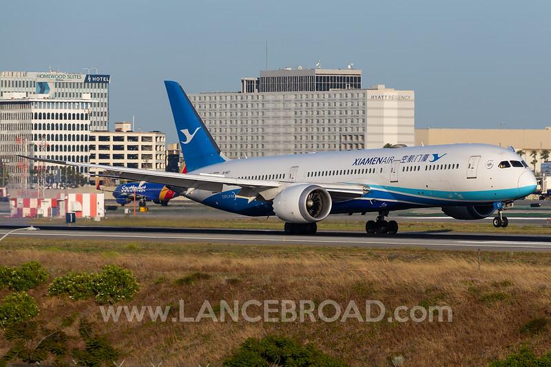 Xiamen Air 787-9 - B-1567 - LAX