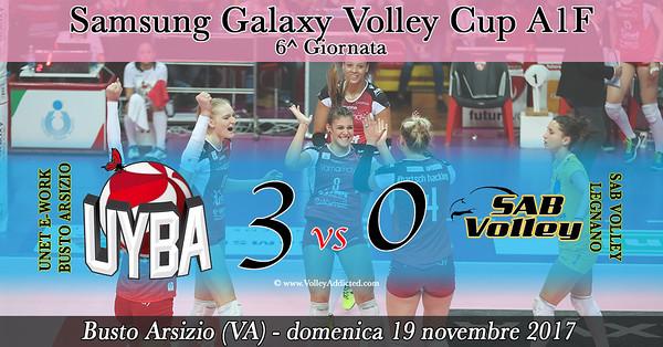 6^ Unet E-Work Busto Arsizio - SAB Volley Legnano