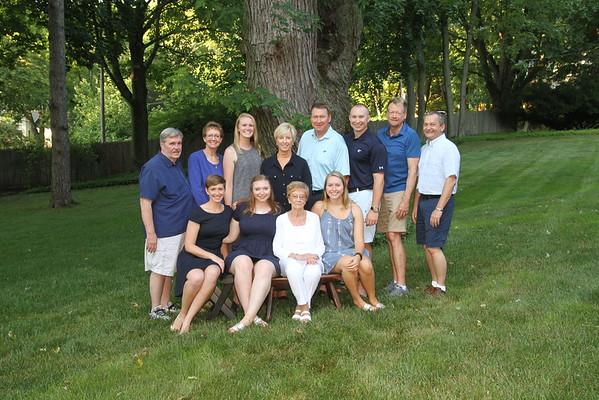 Farley Family Nana's 90th August 2016