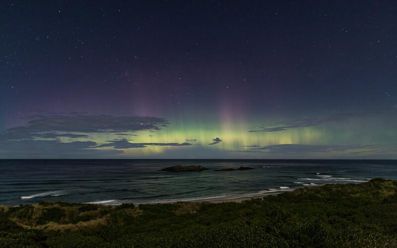 Moonlit Aurora Australis 2