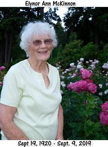 "Elynor McKinnon ""Grandma"" Video Celebration Life"