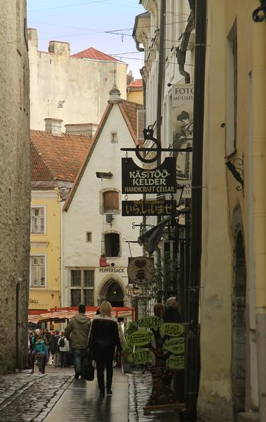 Raekoja Street -Tallinn, Estonia