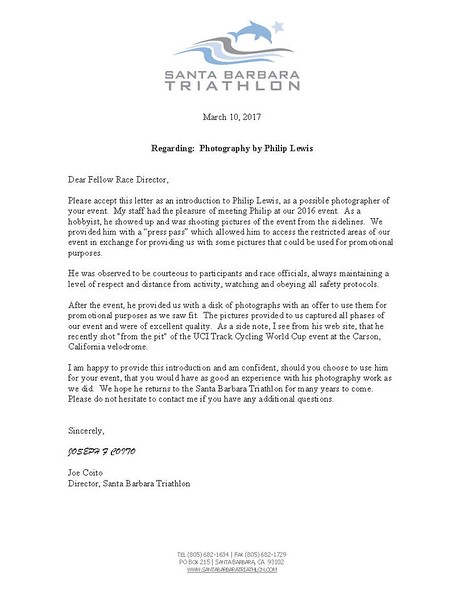 Letter of introduction from Joe Coito SB Triathlon.jpg
