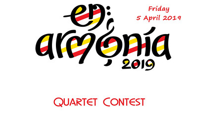 2019-0405 SABS Friday Quartets Contest