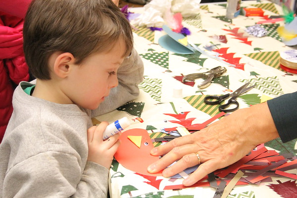 Quechee Library, Holiday Crafts, 2014
