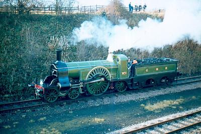 GNR Stirling No.1 preserved