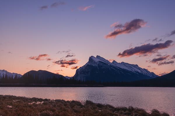 Mount Rundle, Vermilion Lake, Banff National Park