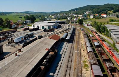 Ampflwang heritage railway centre, Austria, 2006