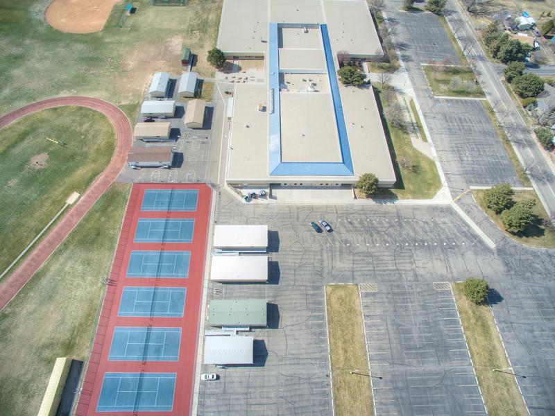 Lake Hazel Middle School Aerial