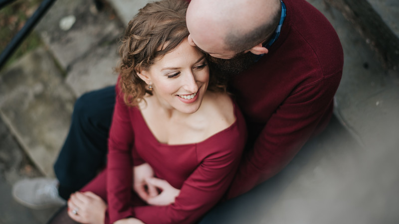 Barbara and Justin - 12.2.17 - Milford Duck Pond