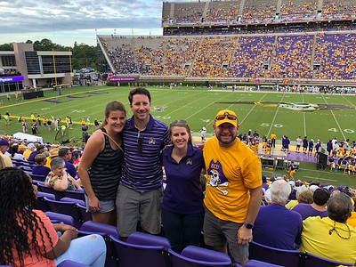 2018 ECU Football vs ODU
