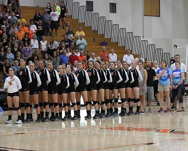 KHS Girls Volleyball 09/03/15