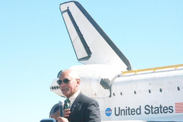 The Final Journey of Shuttle Orbiter Atlantis
