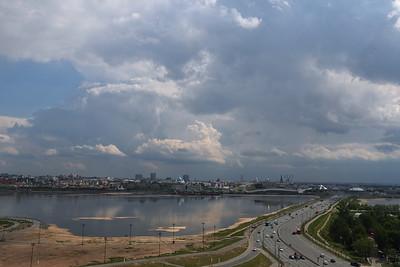 23.05.19 Ливень на трассе в Йошкар-Олу ( Михаил Захаров )