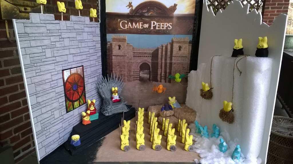 ". \""Game of Peeps,\"" by Berkeley Collins"