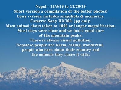 Nepal 2013 Long