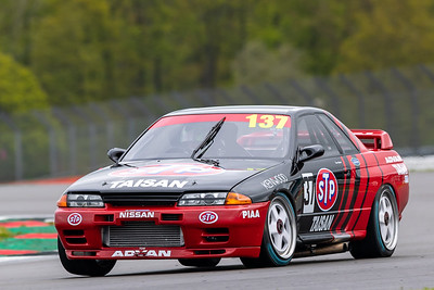 HSCC - Silverstone - Dunlop Saloon Car / Historic Touring Cars - 22-05-21