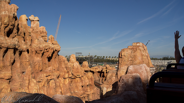 Disneyland Resort, Disneyland, Frontierland, Star Wars Land, Star Wars, Big Thunder Mountain Railroad, Big Thunder, Trail, Jamboree