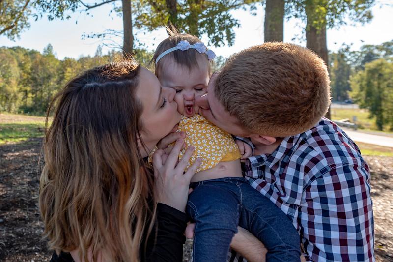 Noelle's First Birthday Family Pics