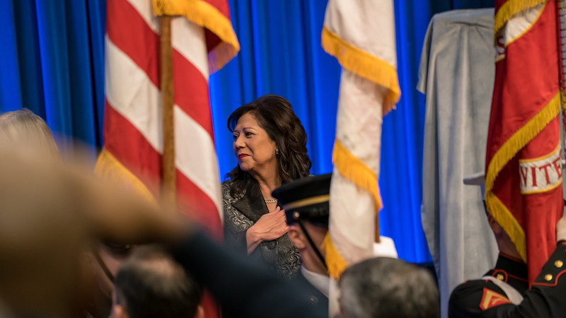 Portraite unveiling for former Transportation Secretary Hon. Hilda Solis