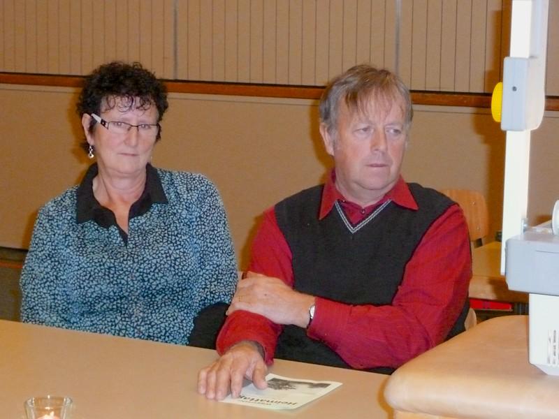 Ruth und Peter Glauser, Badhut, Menznau, Anwohner am Jakobsweg