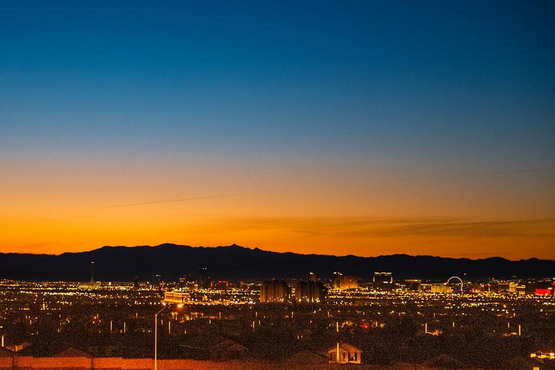 Vegas Sunrise