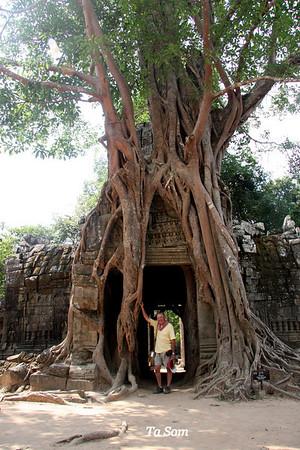 Ta Som Temple at Angkor
