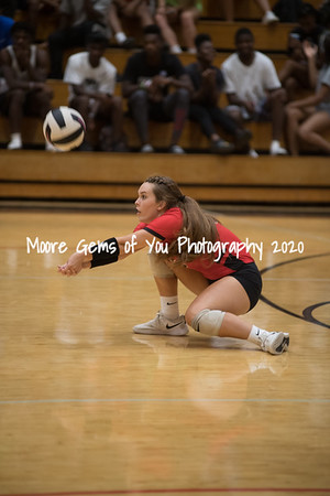 2019 Hillcrest vs Gaffney volleyball