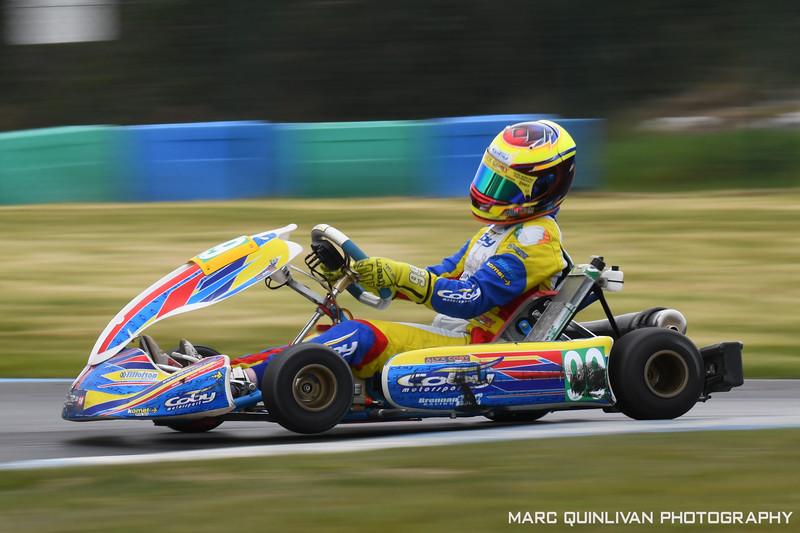 Tullyallen Kart Club - 2019 Championship - Round 1 - Whiteriver - Alyx Coby