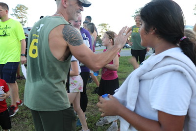 FRE Fitness Owls run YMCA Veterans Obstacle Course