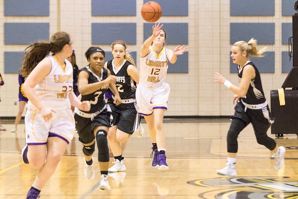 2017-02-14 - LH Girls BB vs Giddings