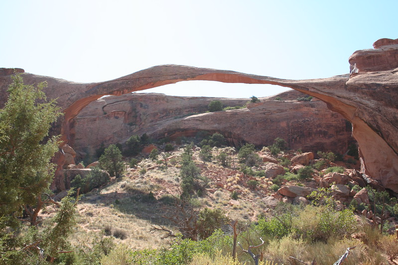 20080908-053 - Arches NP - 41 Landscape Arch.JPG
