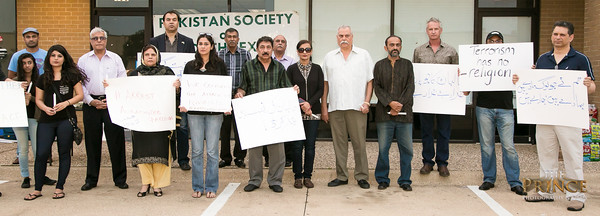 PSNT's Fateha & Candle Light Vigil in Remembrance of Karachi Bus Shooting Victims