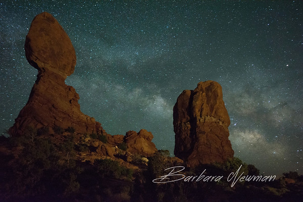 Arches National Park - Night and Day