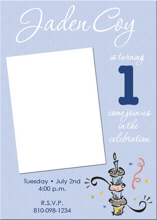 Birthday Invitation, Children