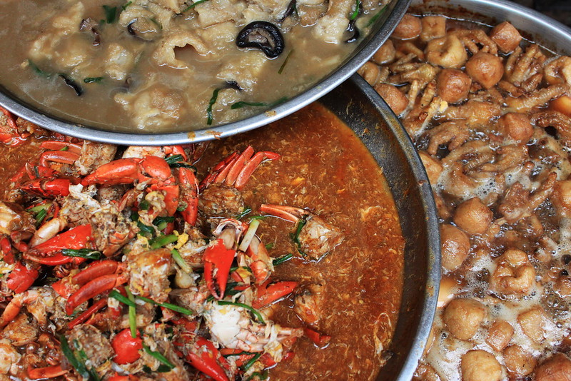 Pongalee crab curry