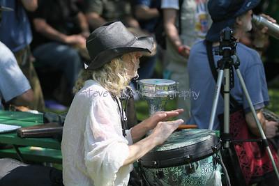 Ithaca Festival 2011 Drum Circle