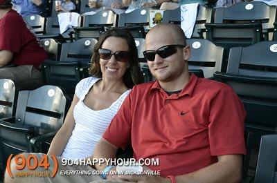 Thirsty Thursdays @ Suns Game - 7.24.14