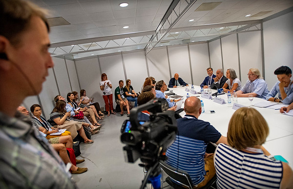 Media roundtable: The HIV epidemic in Eastern Europe and Central Asia
