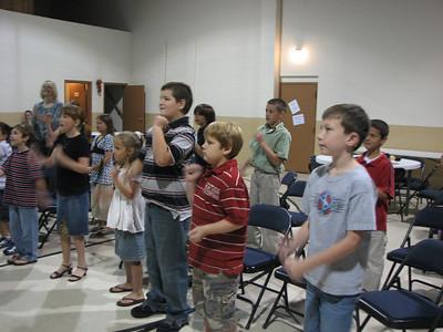 Forest Home Nazarene, Jonesboro AR, Sept. 2007