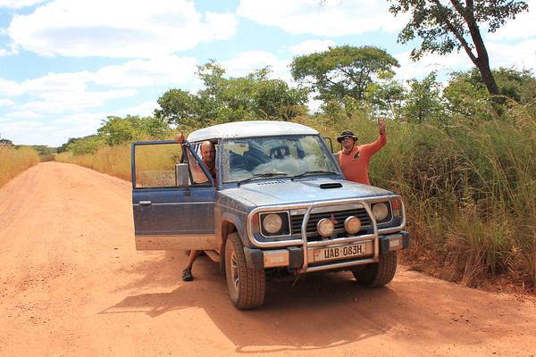 Zambia - road fun
