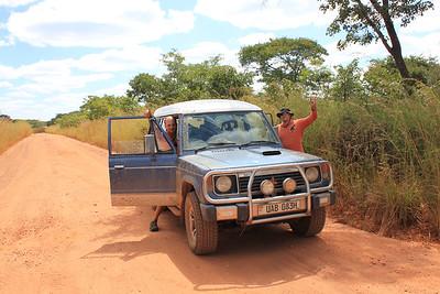 Zambia - road fun