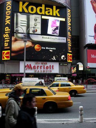 Kodak POTD Times Square 11 Jan 04