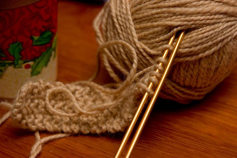 Abandoned ball of yarn.