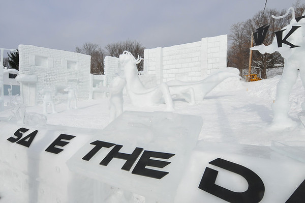 Snow Statues 2009