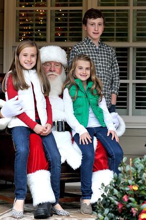 Murphy Christmas with Santa 11 17 13