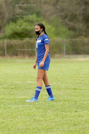 Clarkton vs Bladenboro girls soccer 3/25/21