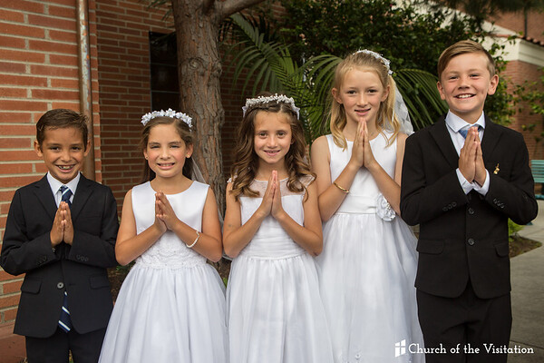 2017 First Holy Communion - Church of the Visitation